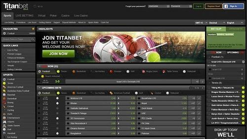 Titanbet Sportsbook Rating