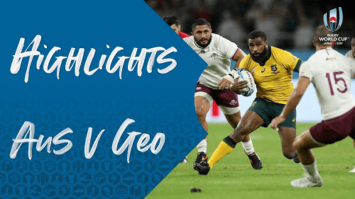 Australia v Georgia Highlights