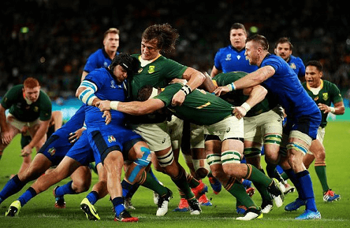 South Africa v Italy Highlights AU