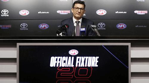 AFL 2020 Fixtures