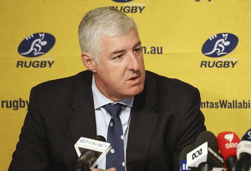 Cameron Clyne Rugby Australia