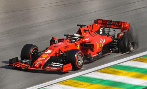 Ferrari Parts Seized