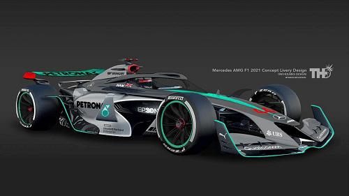 Formula 1 2021 Cars