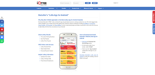TheLotter Android App