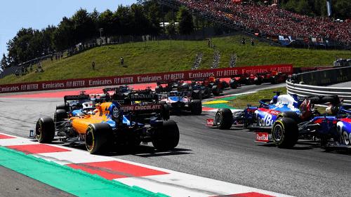 Formula 1 Return in Austria